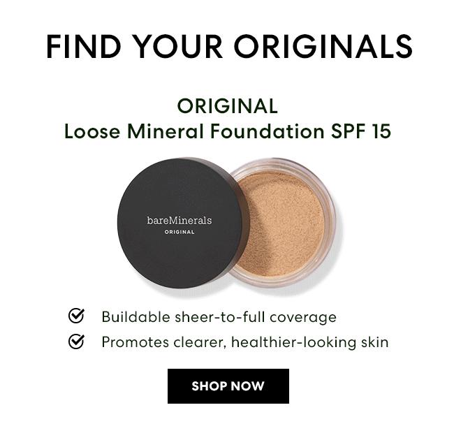 ORIGINAL Loose Mineral Foundation SPF 15 - Shop Now