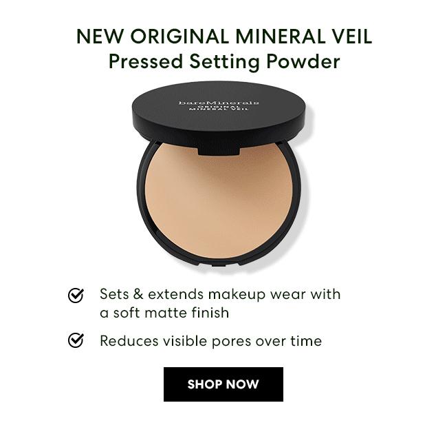 NEW ORIGINAL MINERAL VEIL Pressed Setting Powder - Shop Now