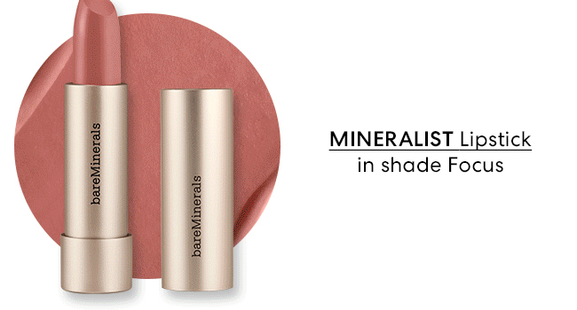 Mineral Lipstick in shade Focus