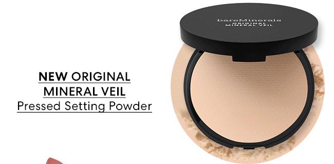 NEW ORIGINAL MINERAL VEIL Pressed Setting Powder