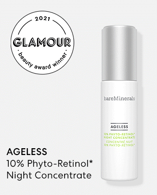AGELESS 10% Phyto-Retinol* Night Concentrate